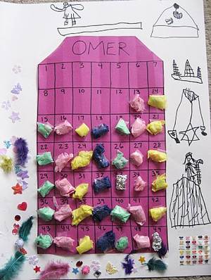 "Amy Meltzer's ""Counting the Omer Calendar"""