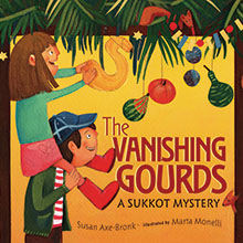 The Vanishing Gourds: A Sukkot Mystery book cover