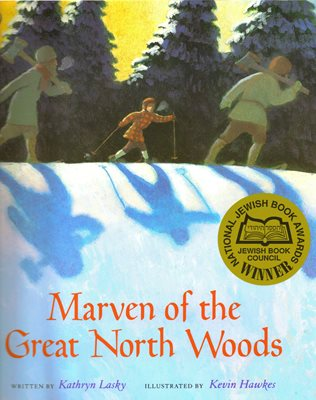 Marven of the Great North Woods book cover