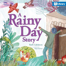A Rainy day story book cover