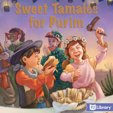 Sweet Tamales for Purim book cover