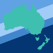 An International incubator graphic of Australia