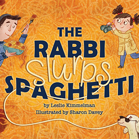 The Rabbi Slurps Spaghetti