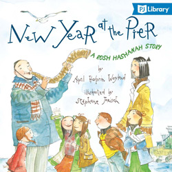 New Year at the Pier book cover