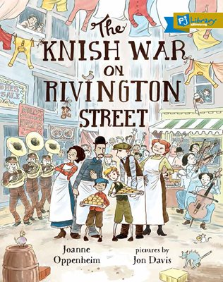 The Knish War on Rivington Street book cover
